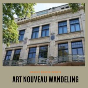 art nouveau wandeling